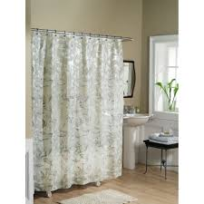 essential home shower curtain tea leaves vinyl peva home bed
