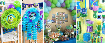 Monsters University theme party ideas in Pakistan
