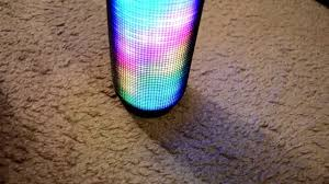 light up portable speaker jbl pulse bluetooth speaker first unboxing youtube