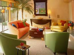 Beautiful Living Room Furniture Color Combinations And Artworks In - Latest living room colors