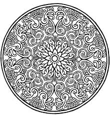 expert mandala coloring pageskids coloring pages