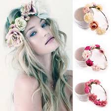 big flower headbands 2017 new fashion women bohemia style big flower headband hair band