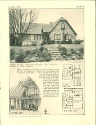 for home lovers 1929 vintage house plans 1920s pinterest