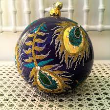pavo peacock patterned ball designed by melissambyrne for