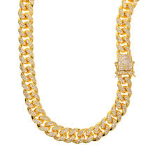 rock chain necklace images 2018 hip hop thick long gold chain for men gold color rope chain jpg
