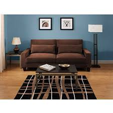 sofa maãÿe hometrends banquette convertible futon sofa bed walmart