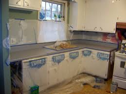 Painting Kitchen Countertops by Spray Painting Countertops Home Design Ideas
