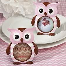 owl baby shower favors pink owl design frame favor baby shower girl gift favors pink owl