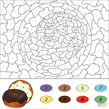 collection of solutions color by numbers worksheets in french on