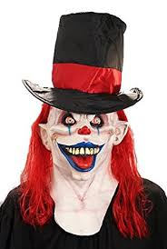 Scary Clown Halloween Costumes Adults Amazon Evil Clown Mask Craky Circus Halloween Costumes