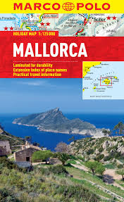 Mallorca Spain Map by Mallorca Marco Polo Holiday Map Marco Polo Holiday Maps Amazon