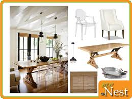 Modern Rustic Dining Room Table Modern Rustic Dining Room Mynest