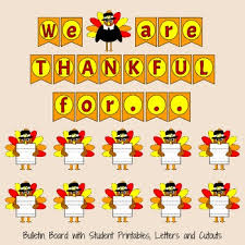 thanksgiving bulletin board set by clipart tpt