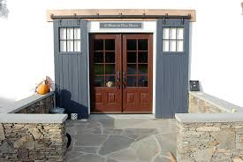 rustic barn door a perfect compliment to the ultra modern do you