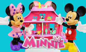 minnie mouse mickey mouse dollhouse toy review bow sweet