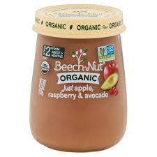 Apple Canisters For The Kitchen Beech Nut Organic U0026nbsp Stage 2 Just Apple Raspberry U0026 Avocado