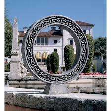Toscano Home Decor Amazon Com Design Toscano Celtic Circle Of Life Statue Bust