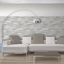 papier peint cuisine gris papier peint papier parement de bois gris leroy merlin