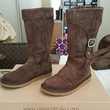 ugg s zip boots 47 ugg shoes ugg cargo iii brown suede zip up boots