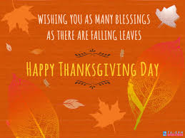 wishing you many blessings on thanksgiving flash greetings