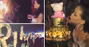 Inside Rihanna U0027s Star Studded Surprise Birthday Bash Beyonce Jay