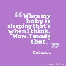 baby quotes and quotes for baby the name meaning