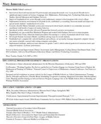 principal middle resume books pinterest resume