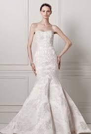 oleg cassini wedding dress brides oleg cassini at david s bridal strapless satin trumpet