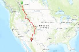 The Great Plains Map World U0027s Longest Mountain Bike Route To Get 400 More Miles