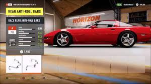 1984 corvette top speed forza horizon 2 1995 corvette zr1 top speed