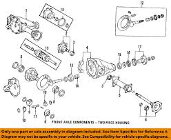 lexus rx300 differential fluid change toyota oem front axle output shaft seal 9031135032 ebay