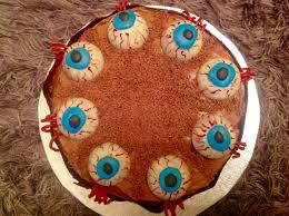 chocolate u0026 raspberry halloween eyeball cake u2013 baking fanatic