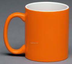 Coffee Mugs Design Orange Mug With Shadow Design Environments U0026 Elements