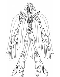 ben 10 benmummy coloring pages coloring kids