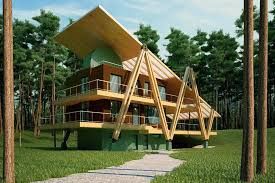 energy efficient house designs energy efficient grasshopper shaped house