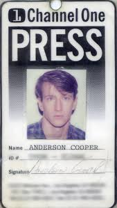 Anderson Cooper Meme - anderson cooper we watched channel one every day in high school