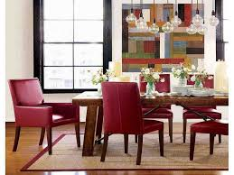 Leather Dining Room Chairs Best Remarkable Design Red Dining Table Sweet Inspiration Room