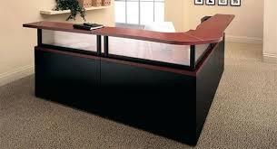 U Shaped Reception Desk Office Desk Office Desks Dallas Mahogany Laminate U Shape Desk
