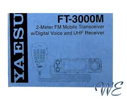 new yaesu ft 3000m operating manual book in english u2022 5 00 picclick