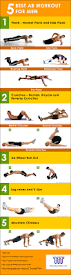 5 best ab workouts for men to build six pack physique workout