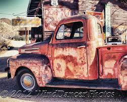rusty pickup truck headin west fine art photo of rusted pickup truck old truck