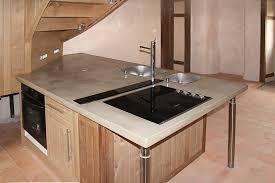 beton ciré pour plan de travail cuisine plan de travail cuisine beton cool carrelage pour plan de travail