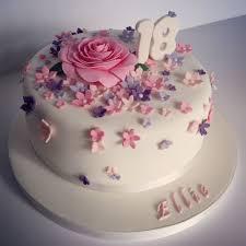 cake for birthday pretty 18th birthday cake for pretty girl design by elina prawito