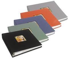 photo albums with magnetic pages nielsen bainbridge ringbound photo albums blick materials