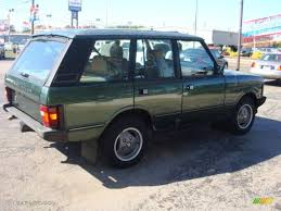 dark green range rover 1993 dark green metallic land rover range rover county 18368275