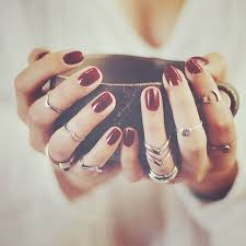 girl hand rings images How to style your rings popsugar fashion jpg