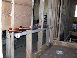 Plumbing Rough by Rough In Bathroom Plumbing Charming Within Bathroom The Home