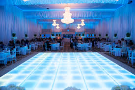 dance floor décor for reception