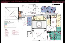 bell center floor plan health sciences center interior montgomery county community college