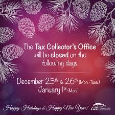 tax collector office closures alachua county tax collector